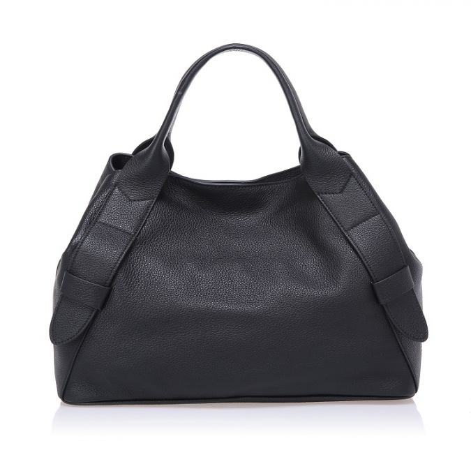 REAL Cow Full Grain Soft Leather Tote Handbag for Women